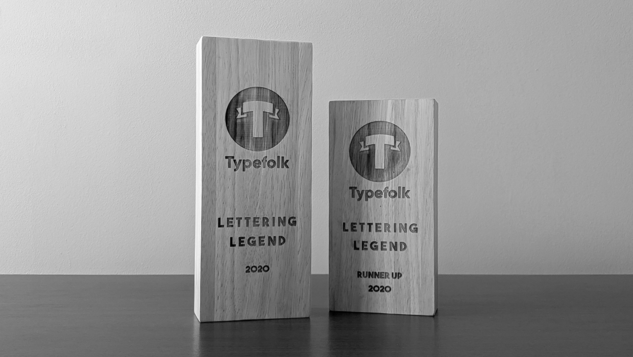 Typefolk Awards Trophies Landscape