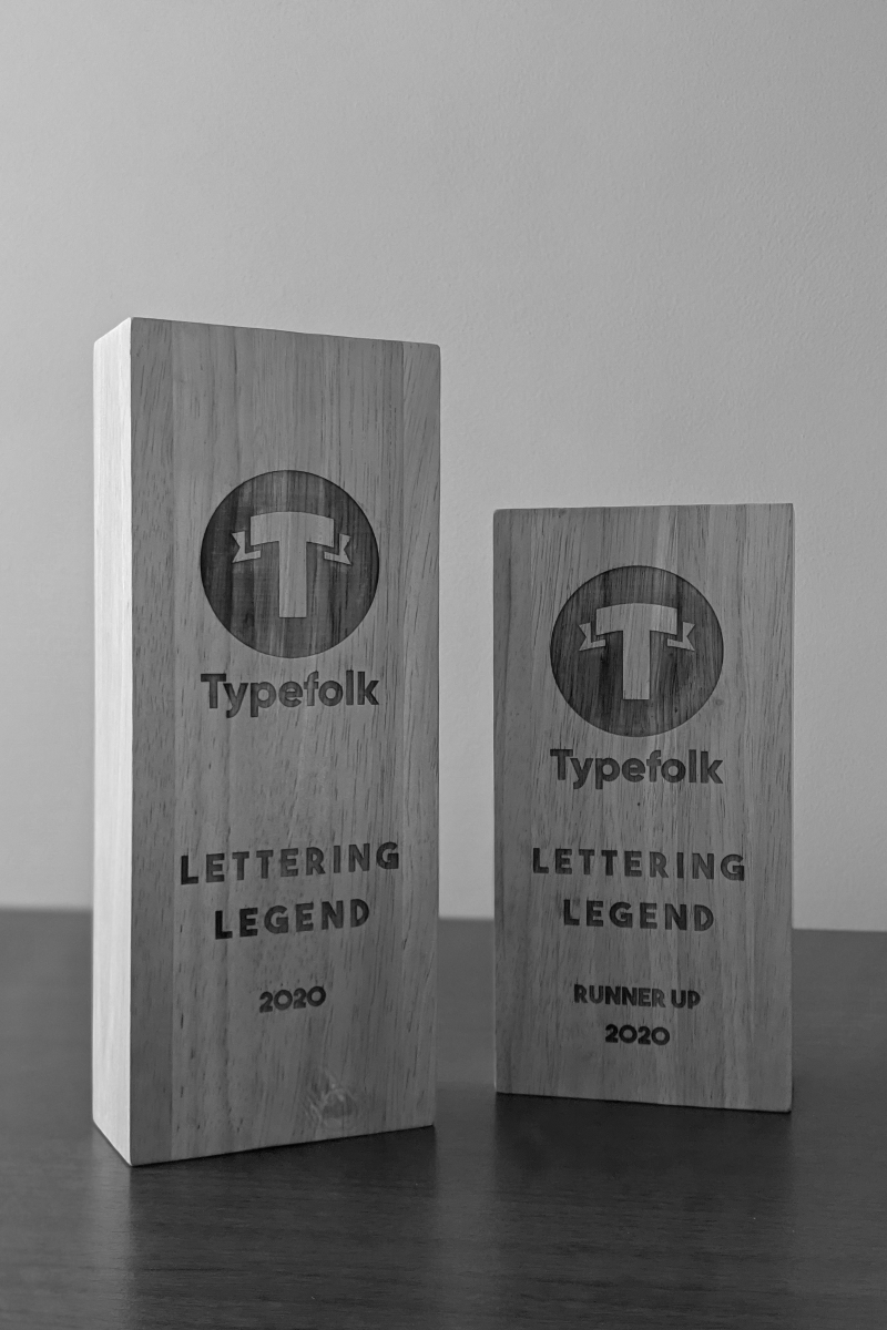 Typefolk Awards Trophies