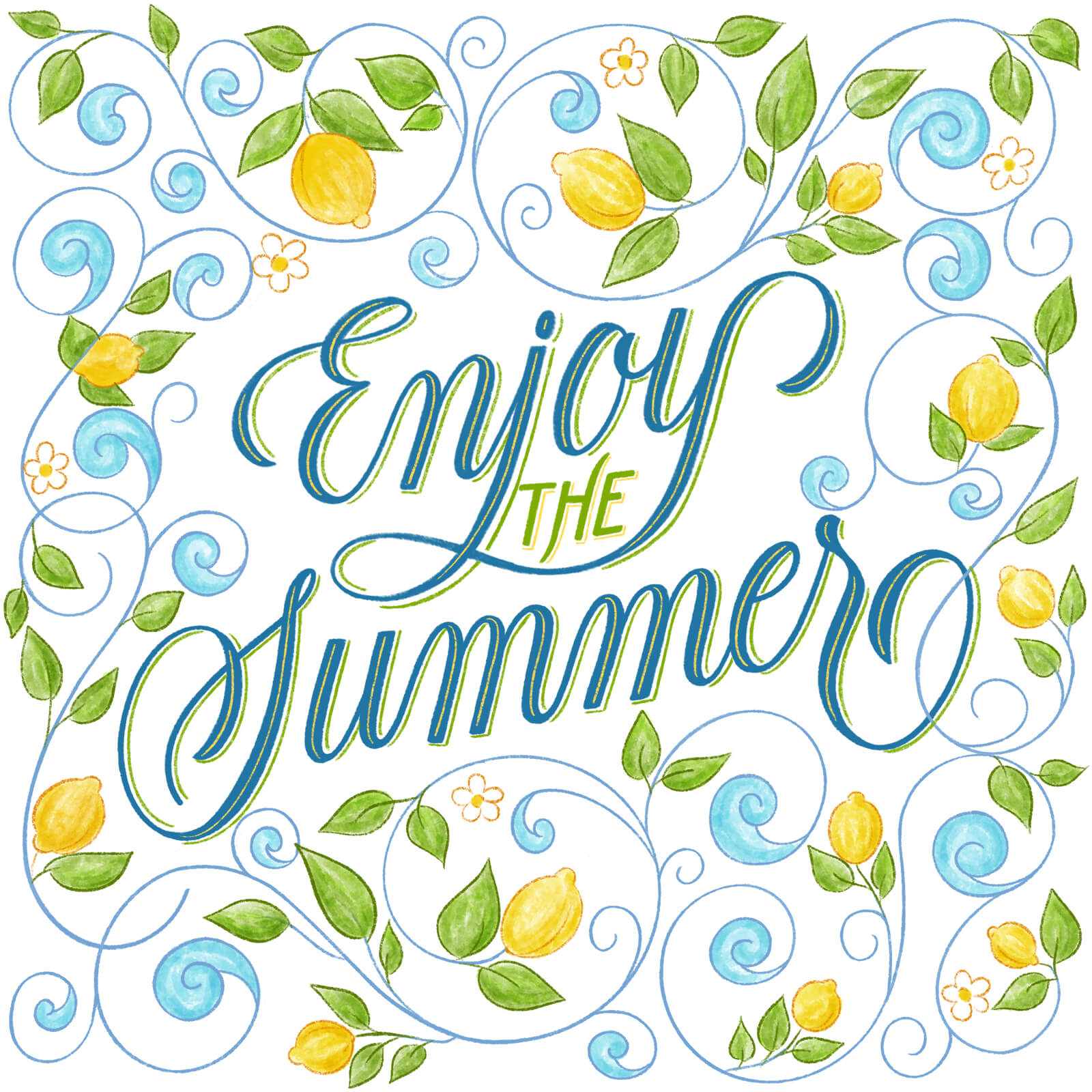 Enjoy The Summer - Corina Moscu