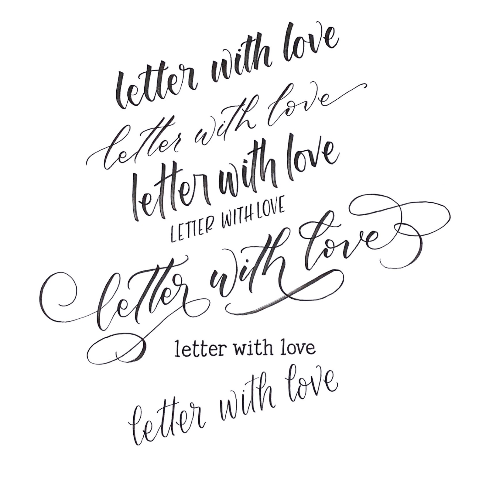 Letter With Love - Jessica Connelly