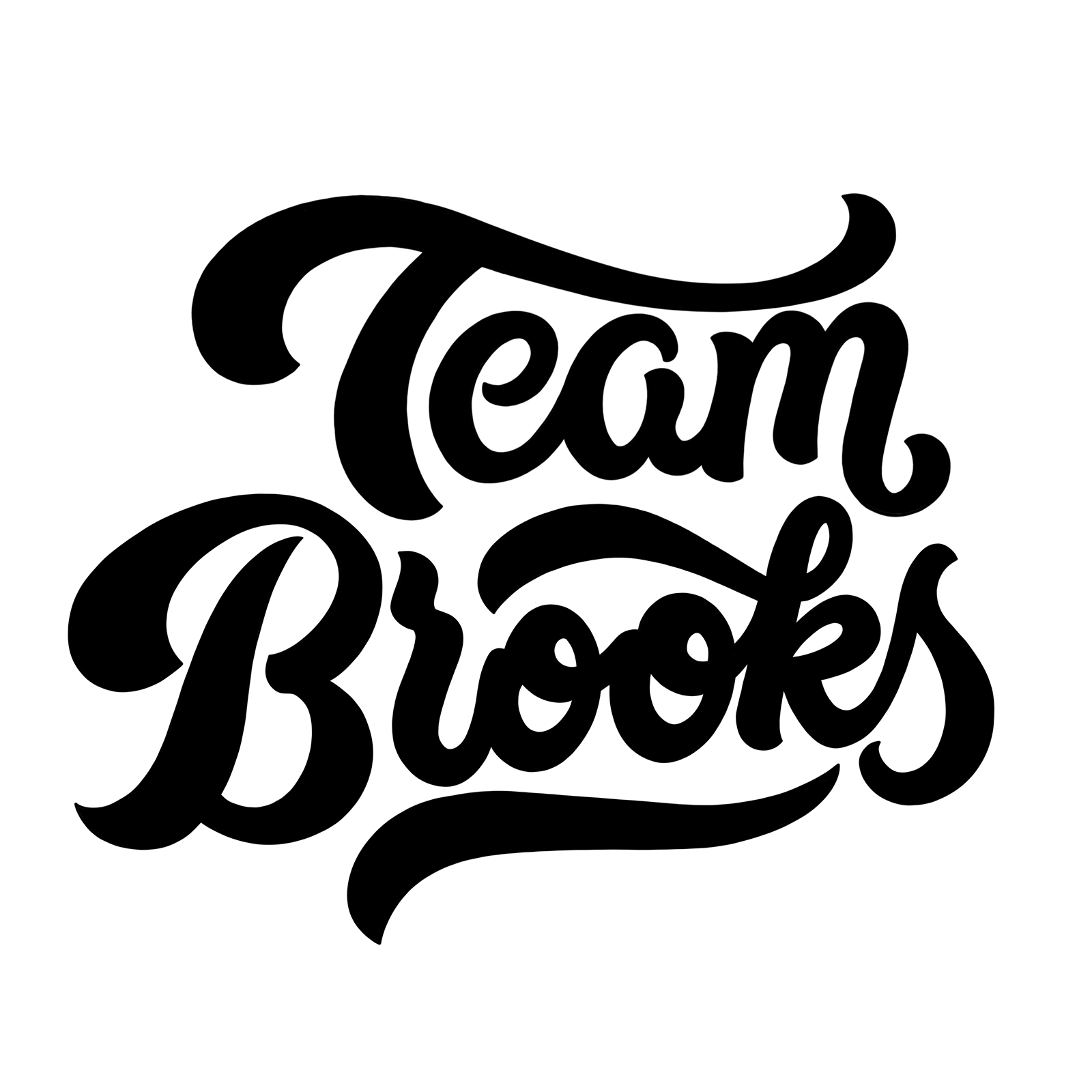 Team Brooks Lettermark - Andrew Ley