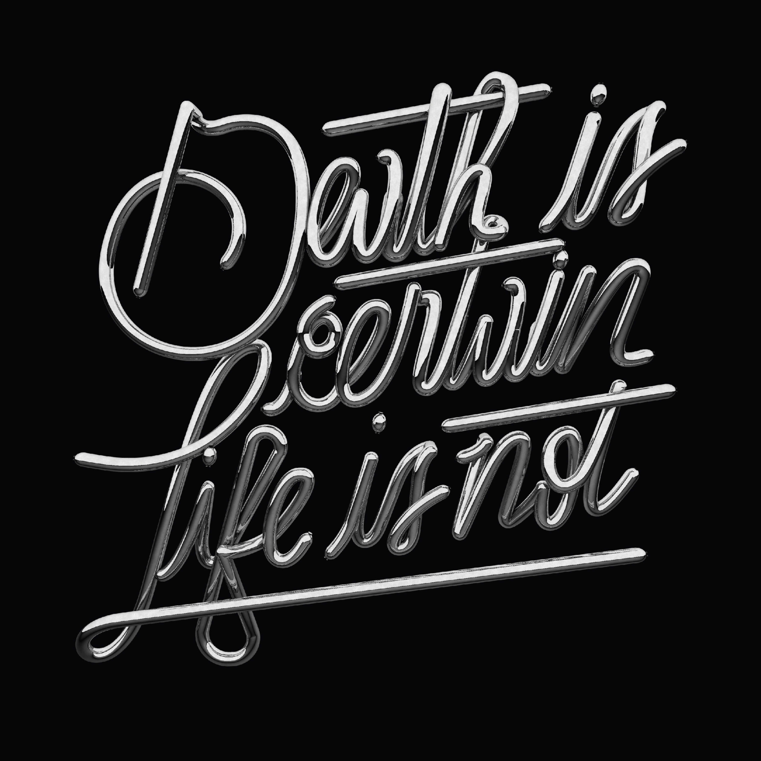 Death Is Certain, Life Is Not - Giacomo D'Agostino