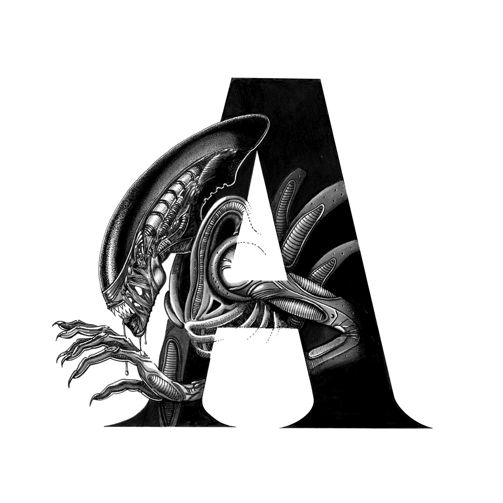 A For Alien - Oscar Diaz