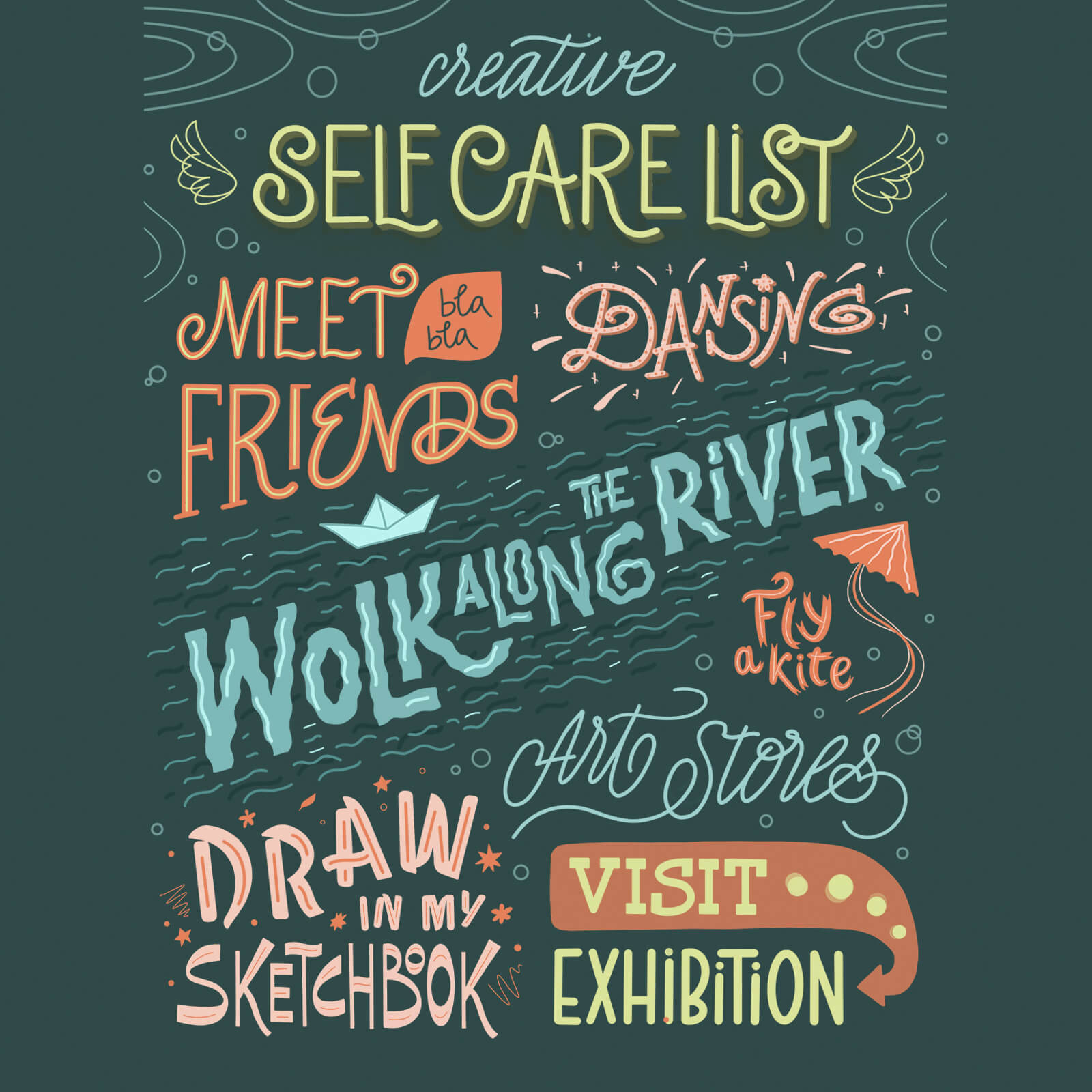 Self Care List - Ekaterina Vasilevskaya