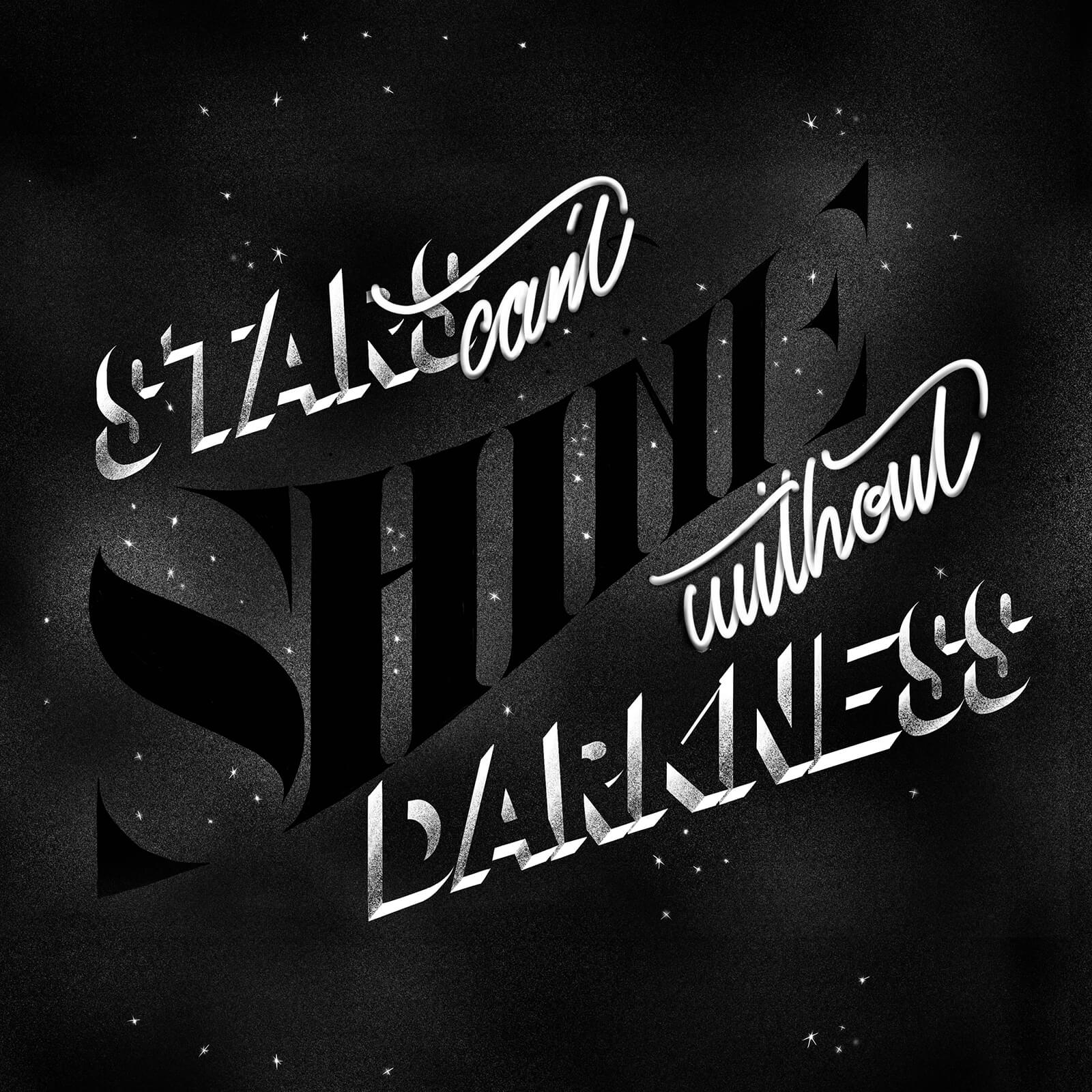 Stars Can't Shine Without Darkness - Amer Alissa