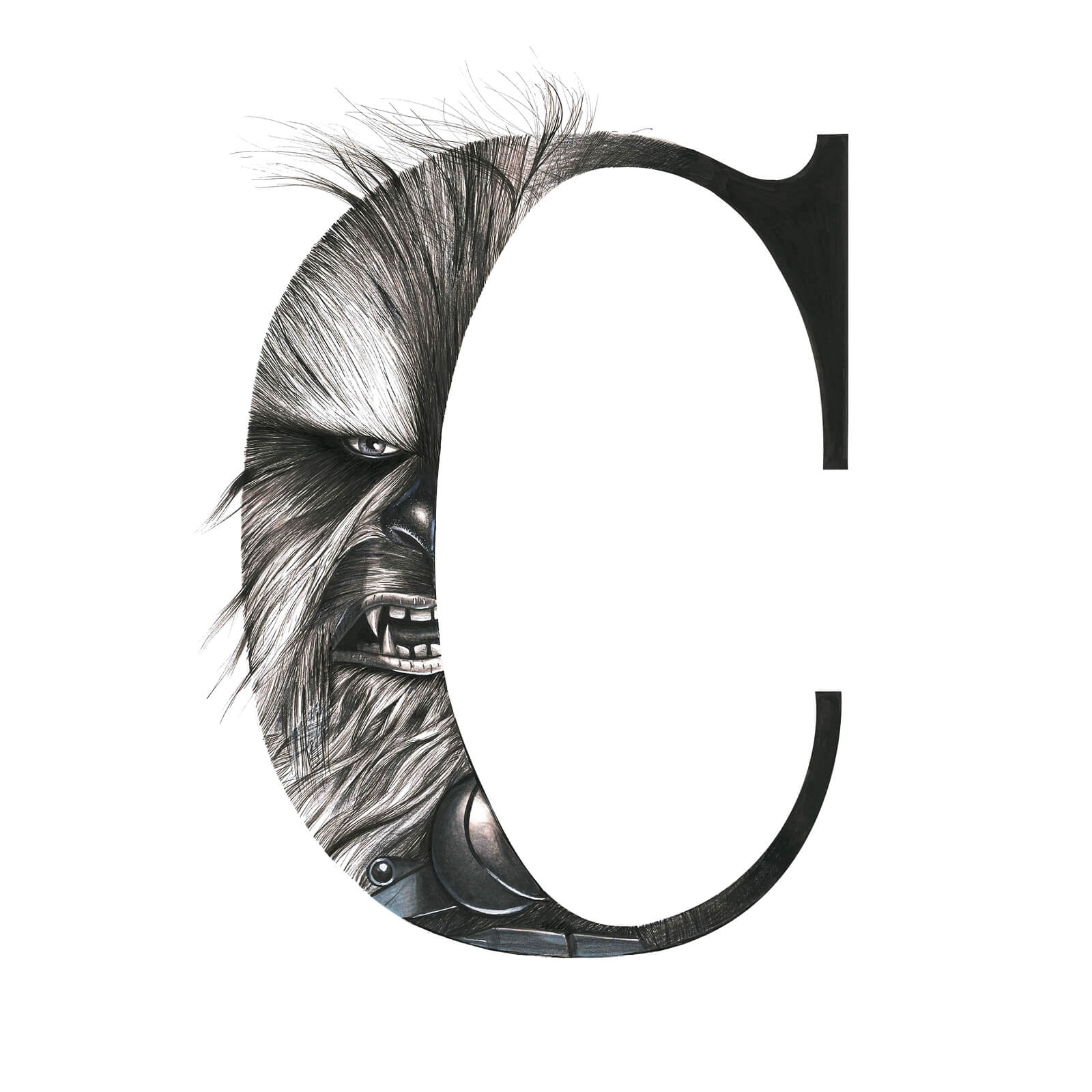 C for Chewbacca - Oscar Diaz