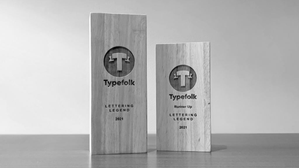 Typefolk Awards Trophies Landscape 2021