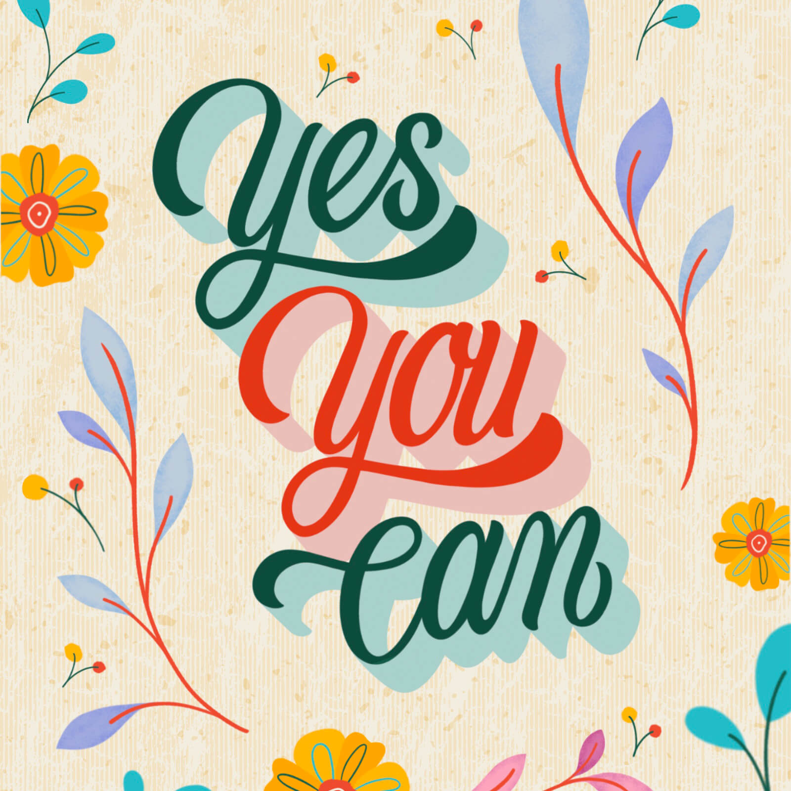 Yes You Can - Laura Drew