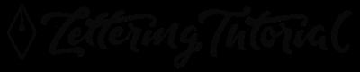 Lettering Tutorial Logo