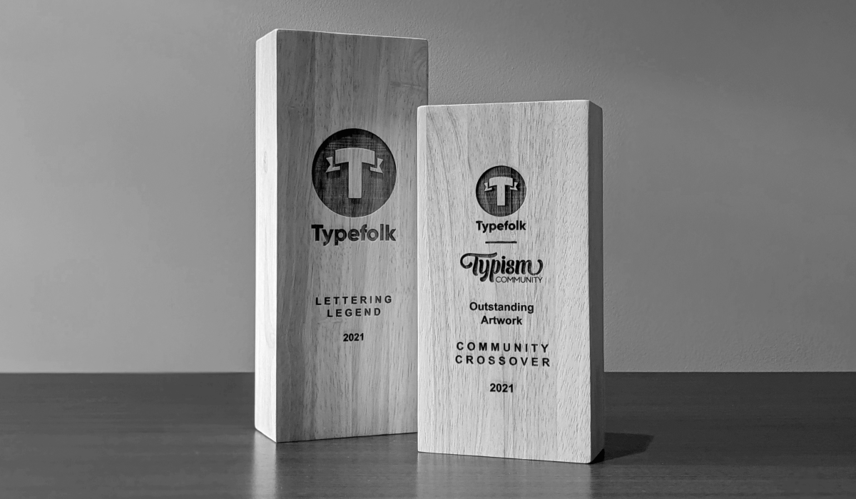 Typefolk and Typism Outstanding Artwork Collaborative Award
