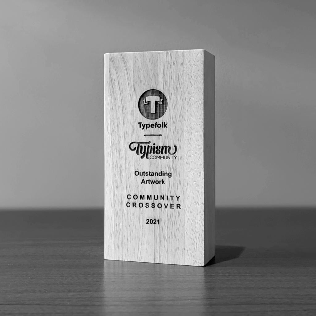 Typefolk Typism Trophy Portrait