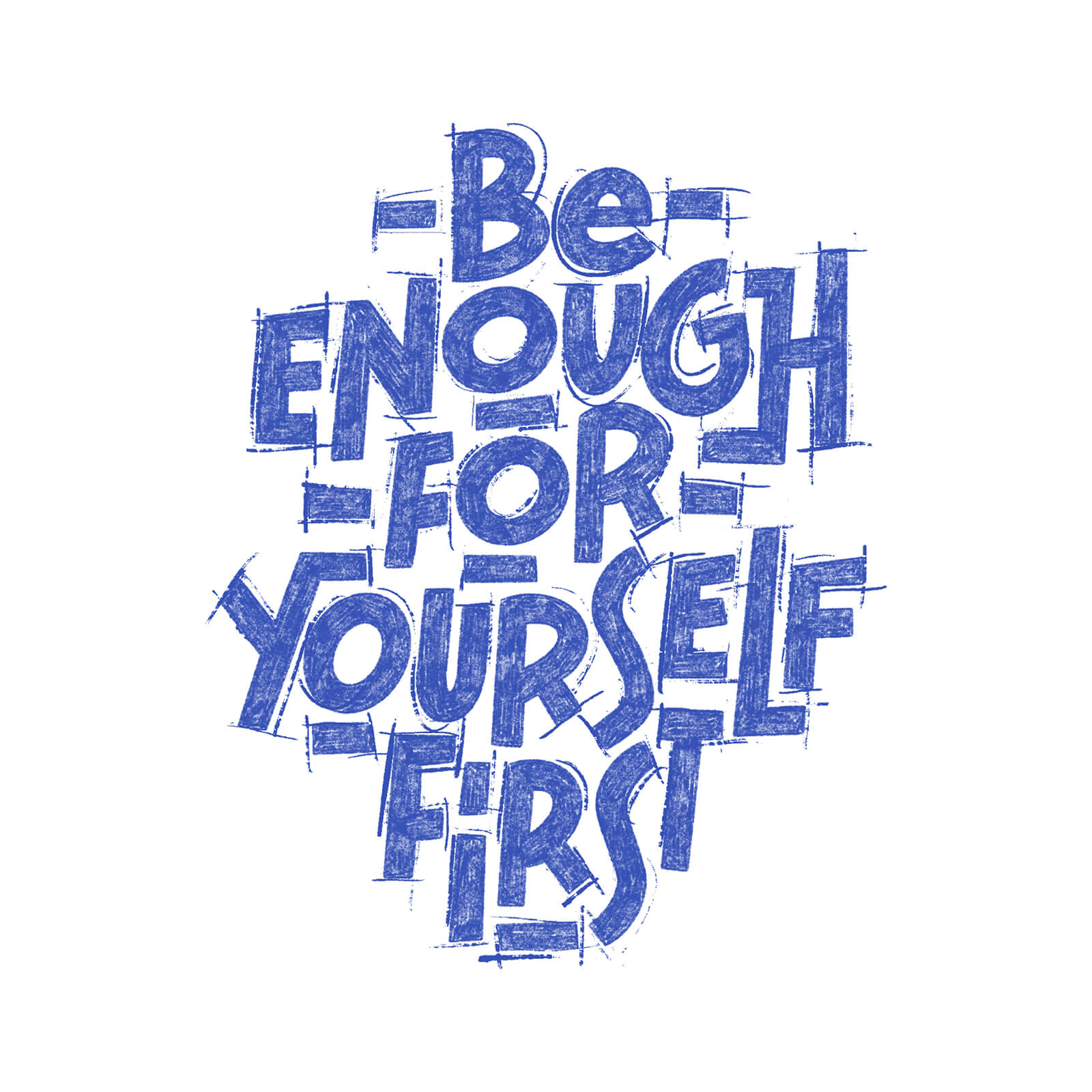 Be Enough for Yourself First - Fiona Poupeau