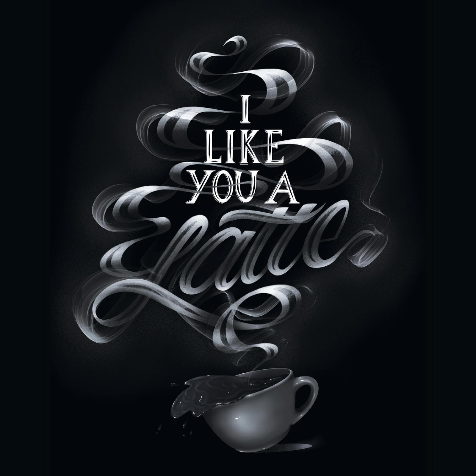 I Like You a Latte - ClazDesign
