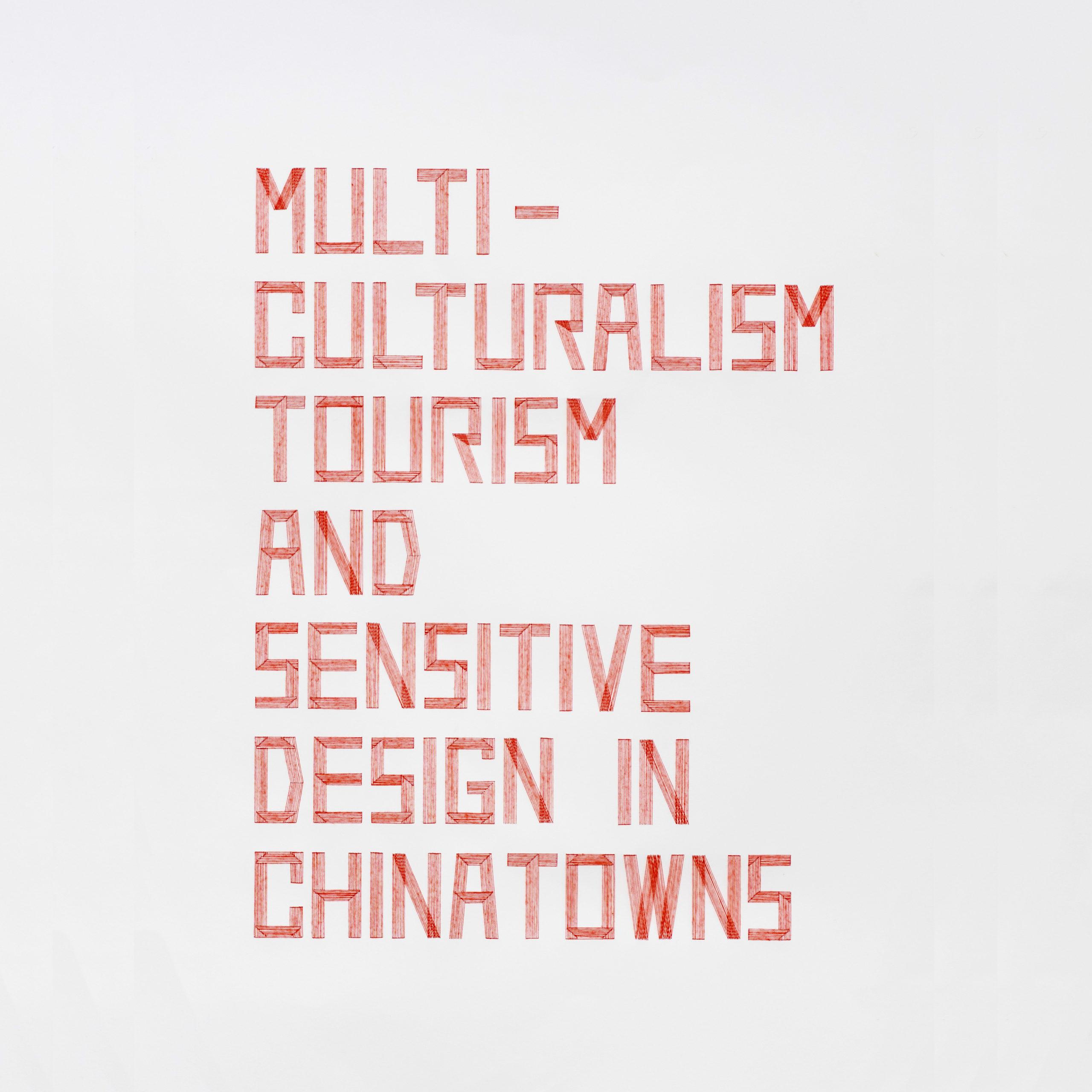 Multiculturalism Tourism and Sensitive Design in Chinatowns - Yanqiao Jiang