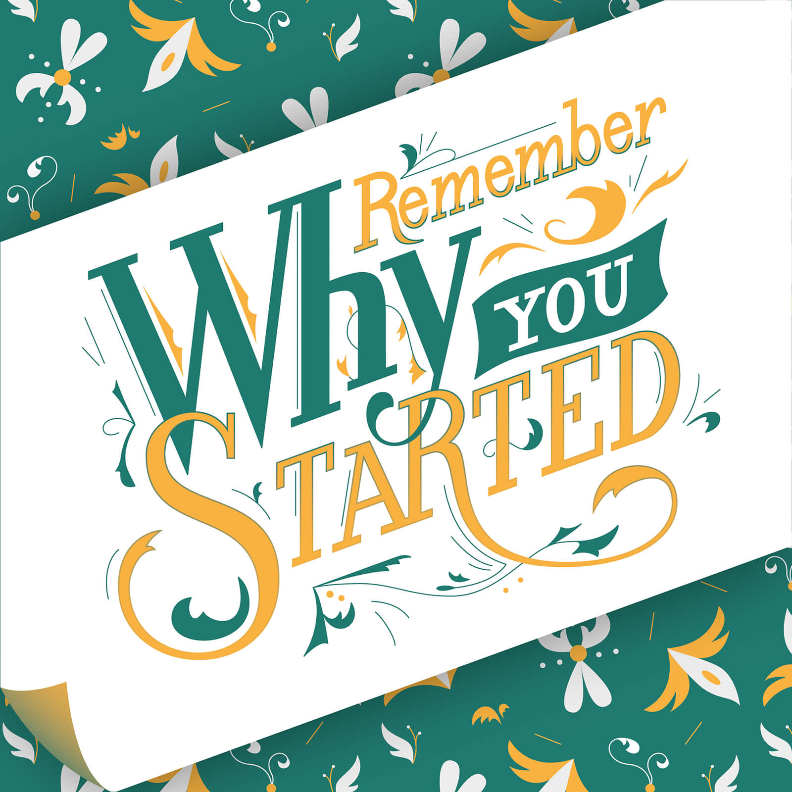 Remember why you started - Anna Chistyakova