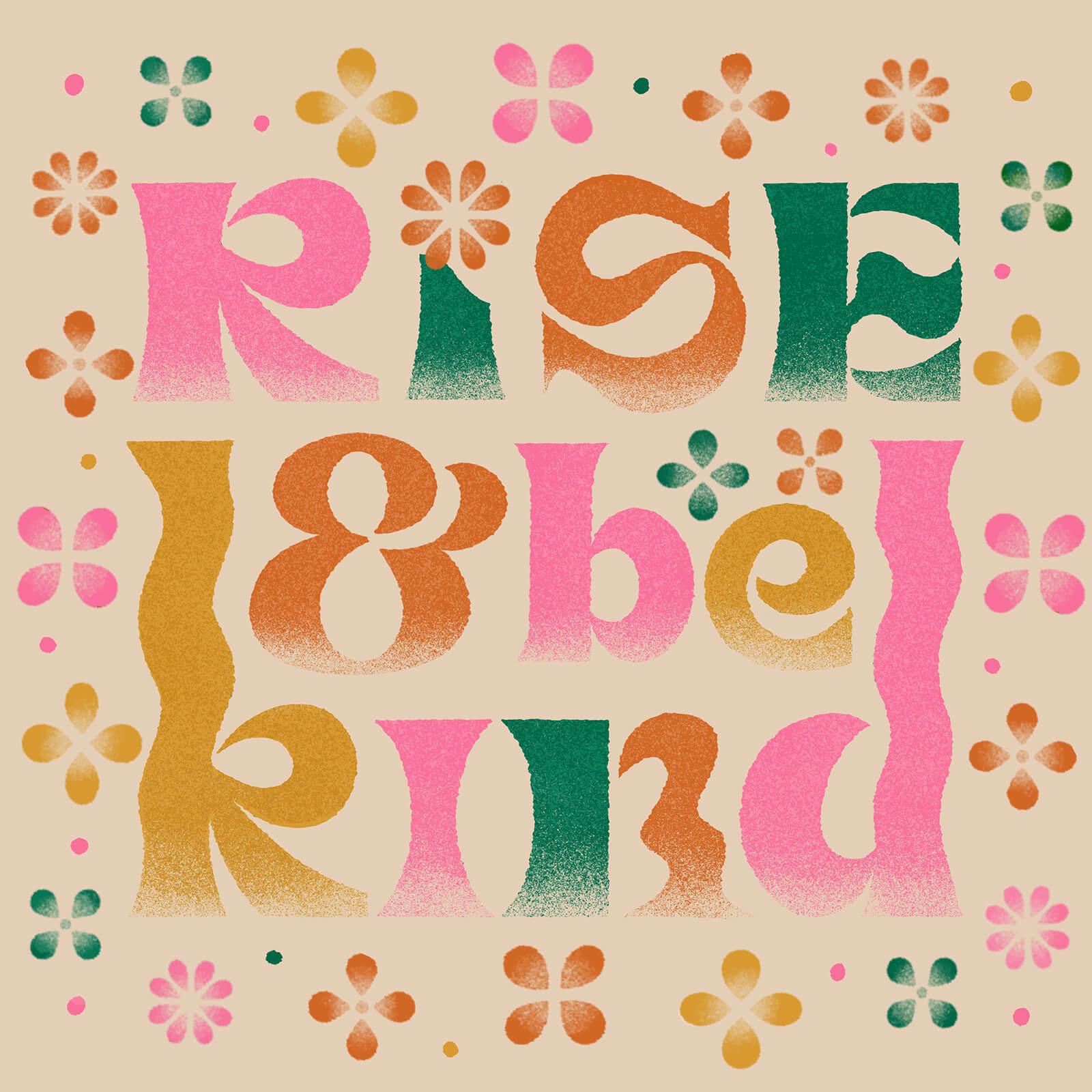 Rise & Be Kind - Jin Kim