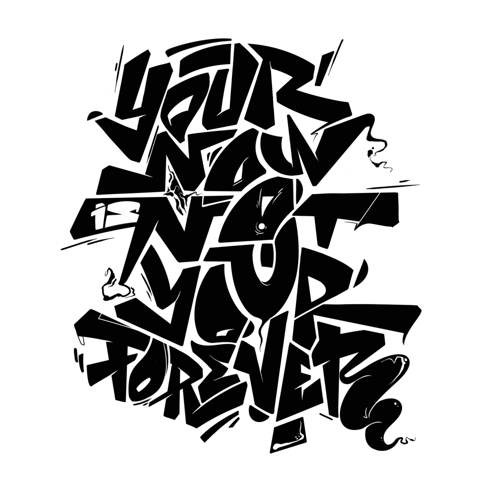Your Now - buchstabenakrobatik