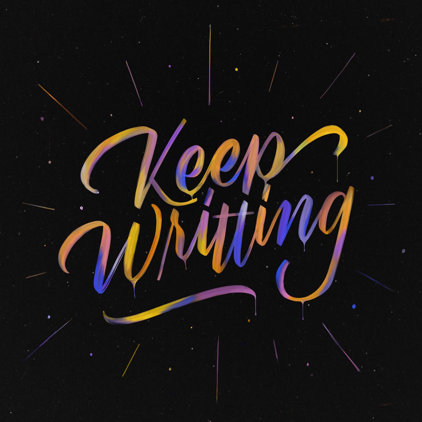 Keep Writting - Ramon Maia Bispo