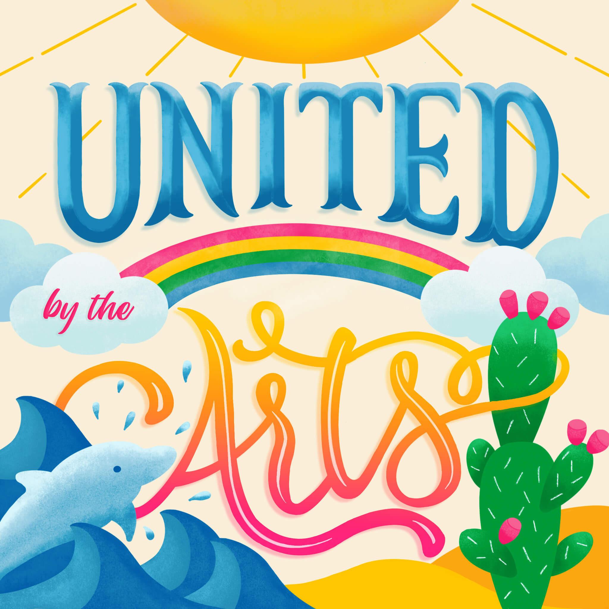 United by the Arts - Marta Brinchi Giusti & Laura Zuccotti