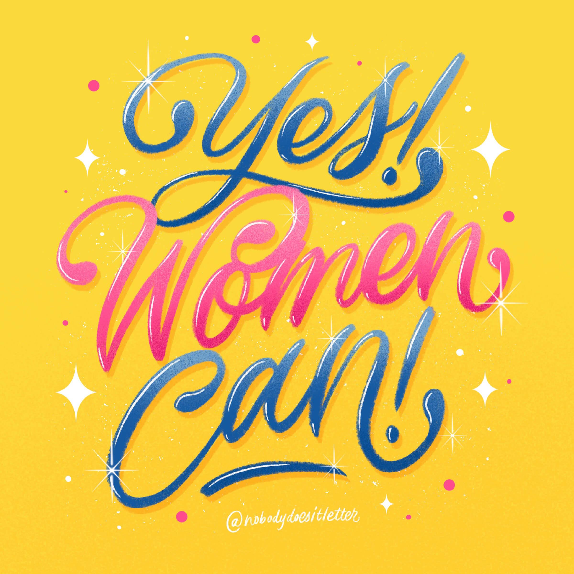 Yes, Women Can! - Ayra De Guia