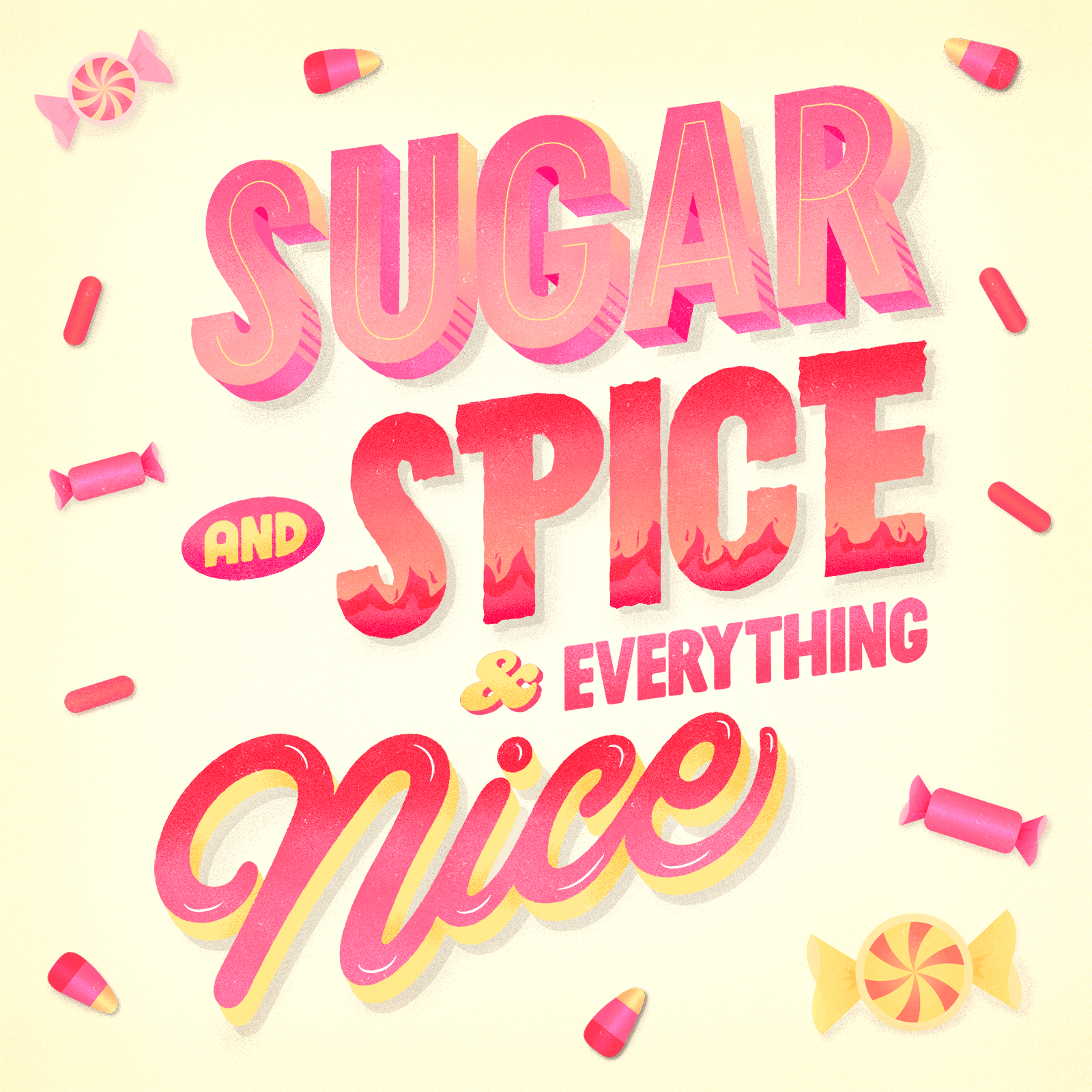 Sugar and Spice and Everything Nice - Diego Vilela