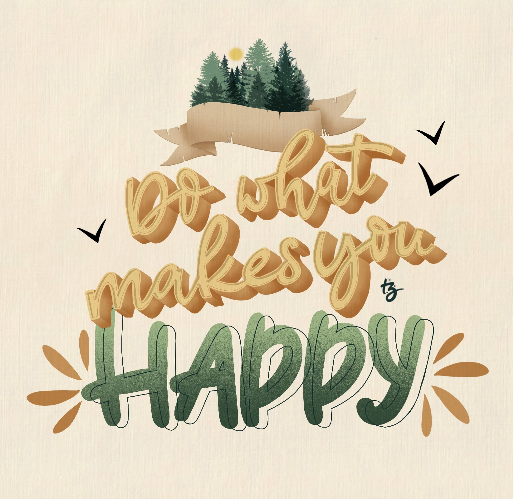 Do What Makes You Happy - Theresa Zander