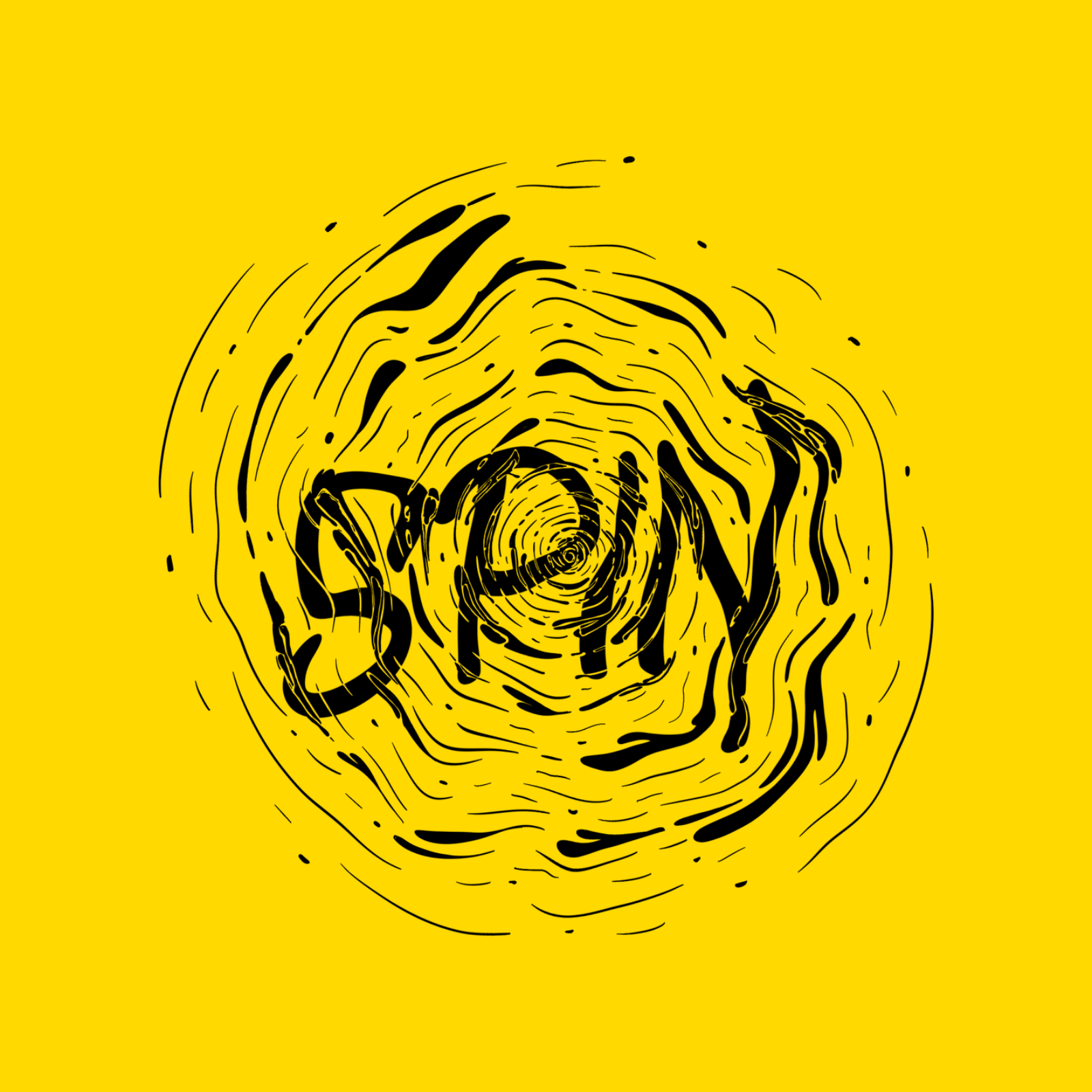 Expressive Lettering - Spin - Sooraj E